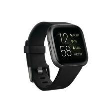 Fitbit versa 2 pulsera de actividad / smartwatch color negro aluminio