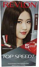 Revlon Top Speed Hair Color Woman, Dark Brown 65, 80g