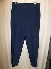 ViNTAGE 80s LEViS BEND OVER NAVY SLiMMiNG DRESS SLACKS PANTS Women's Size 12 S