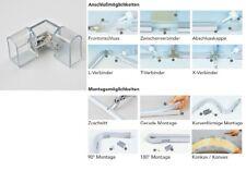 LED Neon Flex L-Verbinder inkl.2x Verbindungsstecker und 2x 8cm Schrumpfschlauch