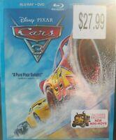 Cars 3 (Blu-Ray/DVD) FREE Shipping Owen Wilson, Disney Pixar No Digital