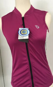 Baleaf Women's Summer Cycling Vest Size S UPF 50~Sleeveless~Pockets In Back F/S