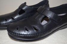 SAS Tripad Comfort Shoes Black Mary Janes Leather Roamer 10 Narrow
