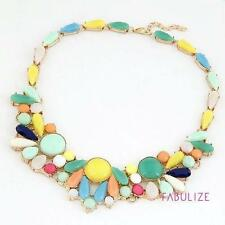 Turquoise Gemstone Statement Costume Necklaces & Pendants
