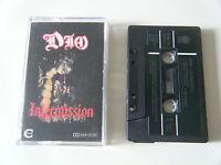 DIO INTERMISSION CASSETTE TAPE 1986 GREEN PAPER LABEL VERTIGO UK