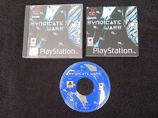 PS1 : SYNDICATE WARS - Completo, ITA ! Compatibile PS2 e PS3