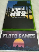 Jeu GTA 3 Collection pour X-Box XBOX PAL Complet CIB - Floto Games