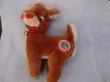 """Applause Red Nosed Rudolph Reindeer 15"""" tall"""