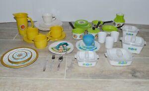 Andy Gard Ohio Art Children's Play Dishes Pots Pans Chilton CDI 50 pcs Vintage