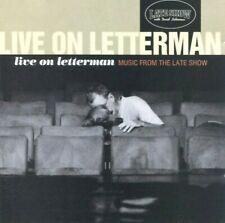 Live On Letterman CD 1997 REM Kravitz Dave Matthews Jewel Stewart Crow Costello