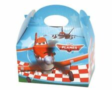 6 Disney Planes Party Boxes - Official Branded - Loot Lunch Cardboard Gift Food