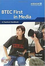 Btec First in Media by Hall, Ken