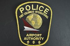 PORT COLUMBUS AIRPORT POLICE PATCH OLD STYLE