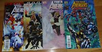 NEW AVENGERS  FINALE AND ANNUALS #1,2,3 NM 9.4  BENDIS