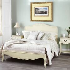 Juliette Shabby Chic Champagne 5FT King size Bed, Cream French bed frame QUALITY