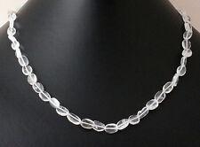 Bergkristall Kette Edelsteinenkette,45cm Lang,Collier,Halskette,Schmuck Kristall
