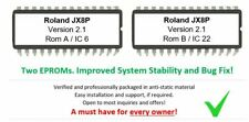 Roland JX8p JX-8p - Version. 2.1 Firmware Upgrade Update OS [Early Revision]