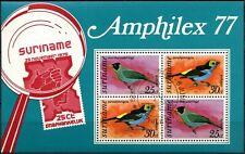 Surinam 1977 Amphilex Cto Used M/S #D86492