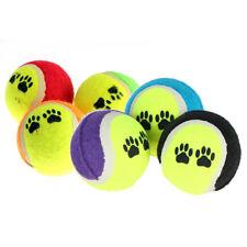 PUPPY DOG CHEW TOY TENNIS BALLS RUN FETCH THROW PLAY TOY PET SUPPLIES