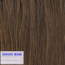 """14""""-24"""" Remy Human Hair Weft Straight Human Hair Extensions 100g More Colors"""