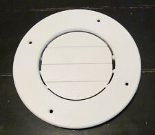RV Round AC Ceiling Vent White Open Close Adjustable Rotate Camper Trailer SALE