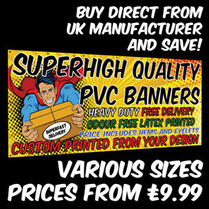 PVC Banners Outdoor Vinyl Advertising Sign Display Custom Printed