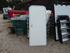 "Trailer Door, 28"" X 68"".  With Screen Door, Frame, Locks & Keys , White, No Wind"