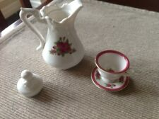 """American Girl Samantha's Holiday Party sweets Teapot plate cup NEW 18"""" doll"""