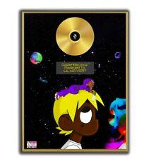 Lil Uzi Vert Poster Eternal Atake GOLD/PLATINIUM CD, gerahmtes Poster HipHop Rap