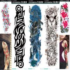1/5 Sheets US Temporary Tattoo Sticker Arm Body Art Sticker Waterproof Color