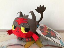Pokemon Center Japan Plush Litten Flamiau Time Mascot Plüschfigur Toy Small