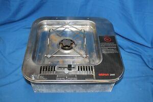Dometic Origo 2000 Single Burner Alcohol Stove Stainless Steel 9581409-01