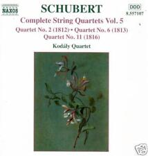 Schubert: String Quartets Complete - Naxos- CD