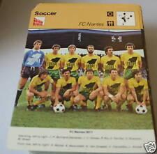 fc nantes - Football Collector card