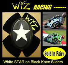 STAR WIZ KNEE SLIDERS WHT-BLK