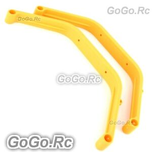 500 Landing Skid For Trex T-Rex Helicopter Yellow - TL50047-2 - USA