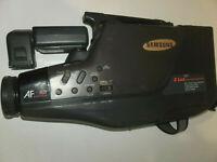 Rare Vintage Samsung Full Size VHS HQ Movie Video Camera Recorder SCF703