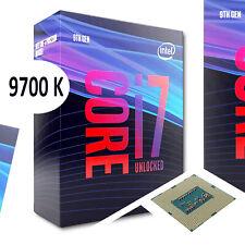 Intel Core i7 9700K Prozessor / CPU - 3.6 GHz bis 4,9 GHz - 8 Kerne - 8 Threads