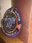 THE PYTHON BAR Coaster Inspired By Jock Lindsey Hanger Bar Embroidery patch