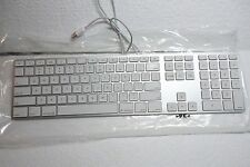 Apple A1243 iMac MacBook G5 iSight USB Keyboard w/2-Port USB Hub 2171 MB110LL/A