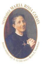 "OLD nice italy rare Holy cards from the 60`s  ""H9814""  san maria rosa carafa"