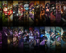 League of Legends LOL 11 Poster Art Print Gamers Wall Decoration 20x16 Inches