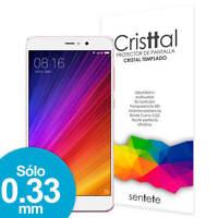Sentete® Xiaomi Mi5s Plus Protector de Pantalla de Cristal Templado PREMIUM