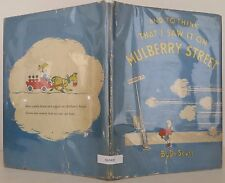 DR. SEUSS And to Think that I Saw it on Mulberry Street INSCRIBED EARLY PRINTING