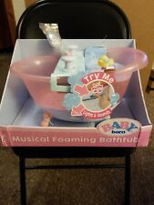 New Baby Born Musical Foaming Bathtub Damaged Box