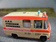 1/87 Brekina MB L 508 RTW ONS Streckensicherung Sondermodell Reinhardt