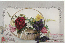 Greetings Postcard - Joyous Be Your Birthday - Ref 964A