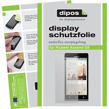 1x dipos Huawei Ascend G6 Film de protection d'écran protecteur antireflet