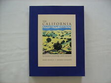 California Landscape Garden Ecology Culture Design Gardening Book