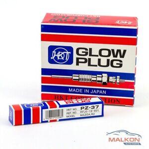 1xHKT GLOW PLUG FOR FORD COURIER MAZDA B-Series KIA PREGIO PZ37 ref RFJ518601